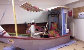 Le bateau Lavoir de Couleurs d'Art