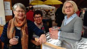 Avec Arlette, Christiane et Jeannine